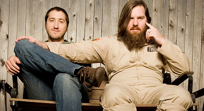 Local indie hits Pinback play Casbah on Wednesday.