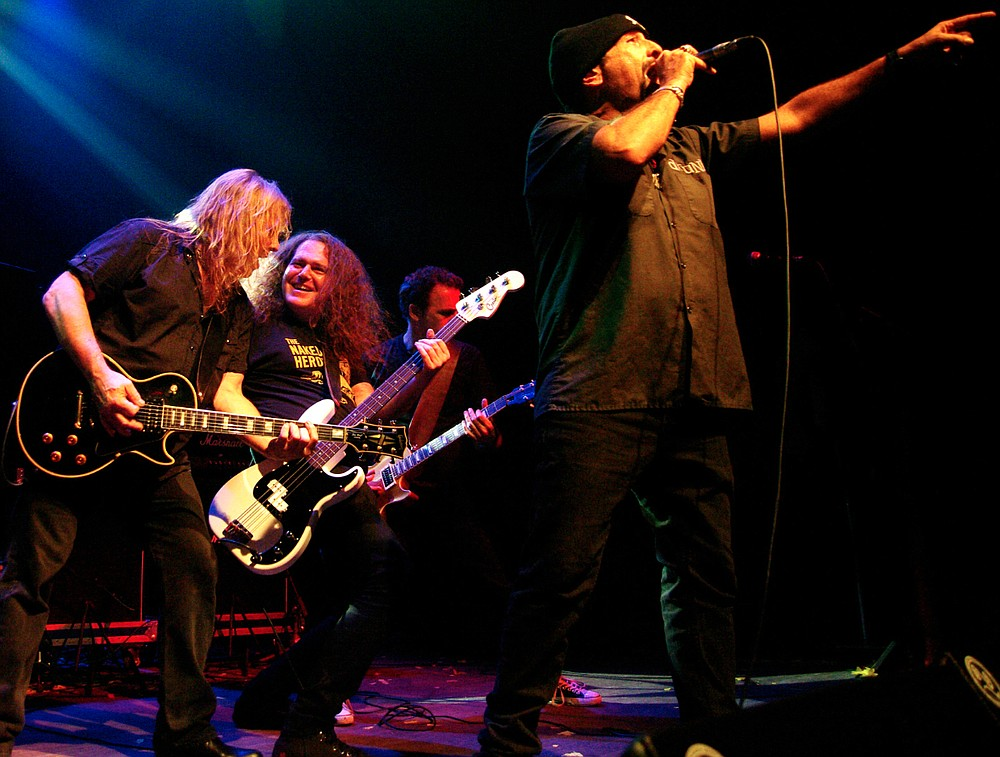 """From the """"Punk Wing"""" of the Rock and Roll Hall of Fame, East Coast 'core band Dictators NYC hit Brick by Brick on Thursday."""
