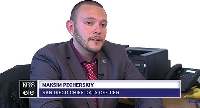 """Maksim Pecherskiy's """"Chief Data Officer"""" assignment is a bit hyped."""
