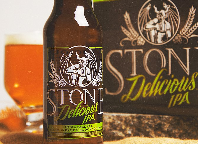 Stone Delicious IPA (photo courtesy Stone Brewing Co.)
