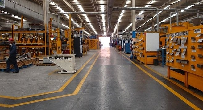 A look inside General Dynamics' Tecnologias Internacionales de Manufactura, in Mexicali