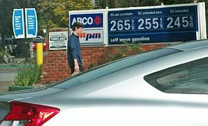Gas Price Bloat San Diego Reader