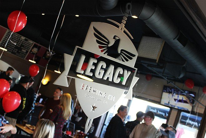 The grand opening festivities at Legacy Brewing Tap & Kitchen
