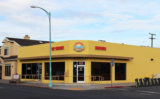 Rip Current Brewing Company's North Park tasting room