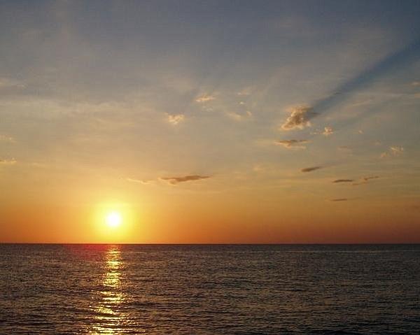 January sunrise over the Sea of Cortez