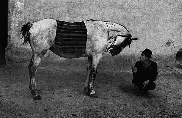 Romania, 1968; Josef Koudelka, gelatin silver print. Image courtesy of the Art Institute of Chicago, promised gift of Robin and Sandy Stuart