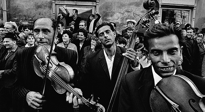 Moravia<, 1966; Josef Koudelka, gelatin silver print. Image courtesy of the Art Institute of Chicago, gift of the artist, 2013