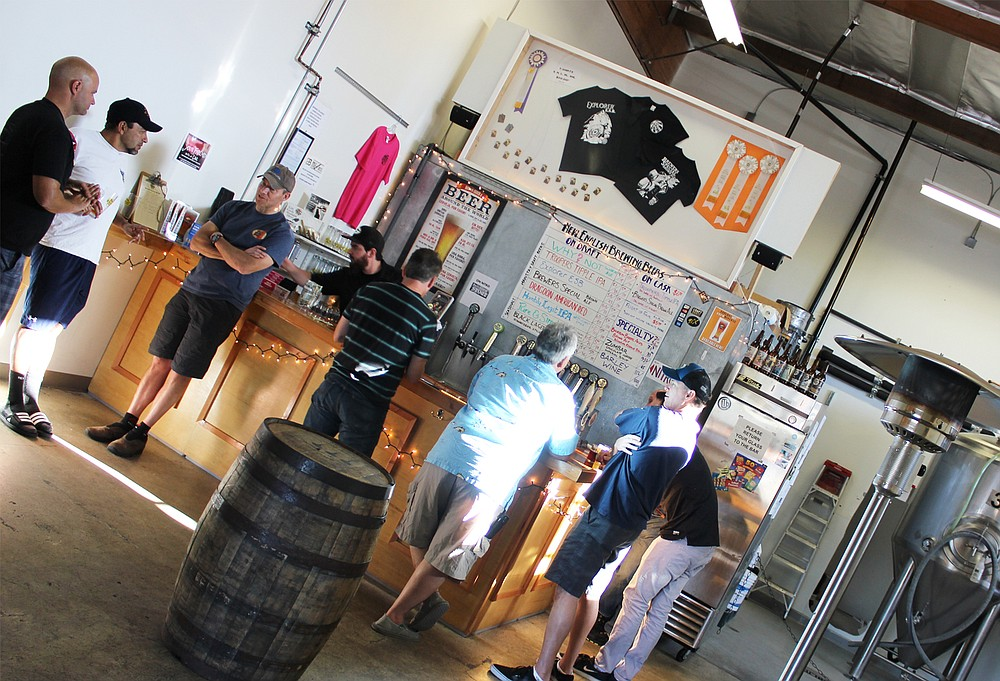 New English Brewing Company's Sorrento Valley brewery and tasting room