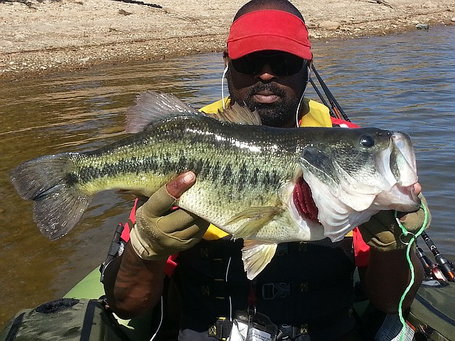 Fish report 7 8 largemouth bass caught lake murray in for Bass fishing san diego