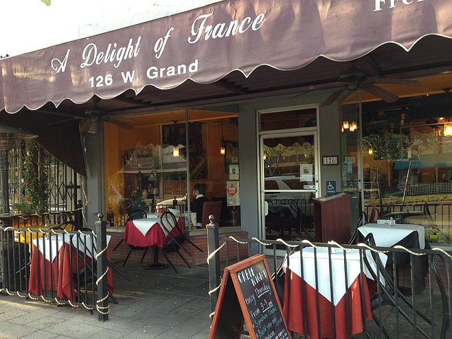 It's how we think French bistros should look.