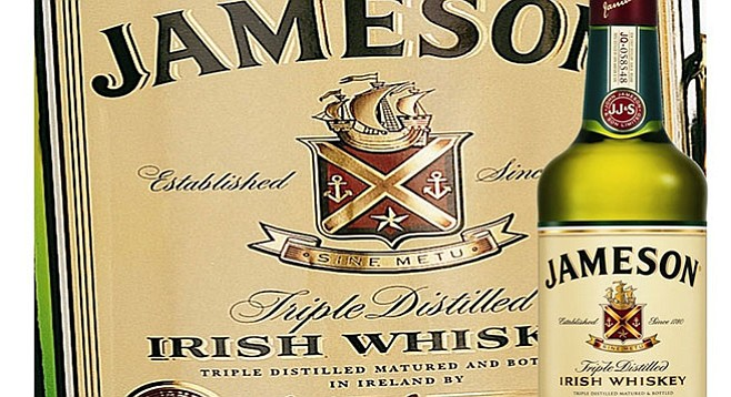 Jameson: a vegan whiskey