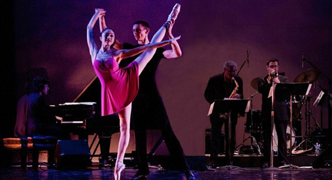 Jazzman McPherson plays a ballet — with a little help from his friends and daughter — of his own composition.