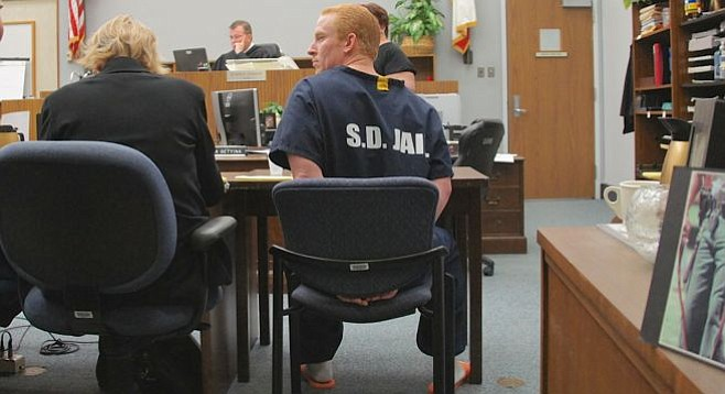 Dash Walter pleads not guilty to all charges. Photo by Eva