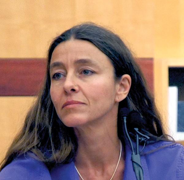 Evelyn Zeller testified during Vilkin's trial