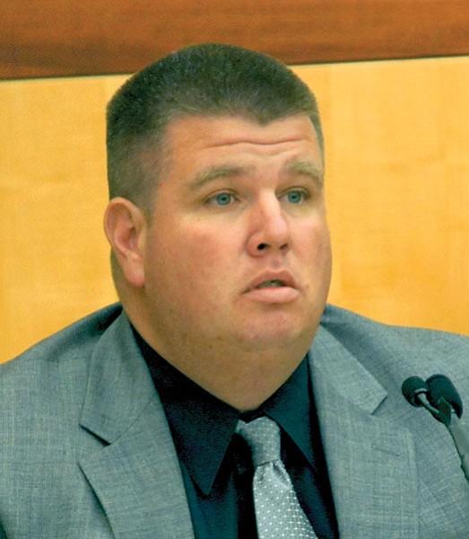 Sheriff's deputy Marshall Abbott