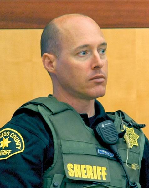 Sheriff's deputy Scott Hill remembered speaking with Vilkin