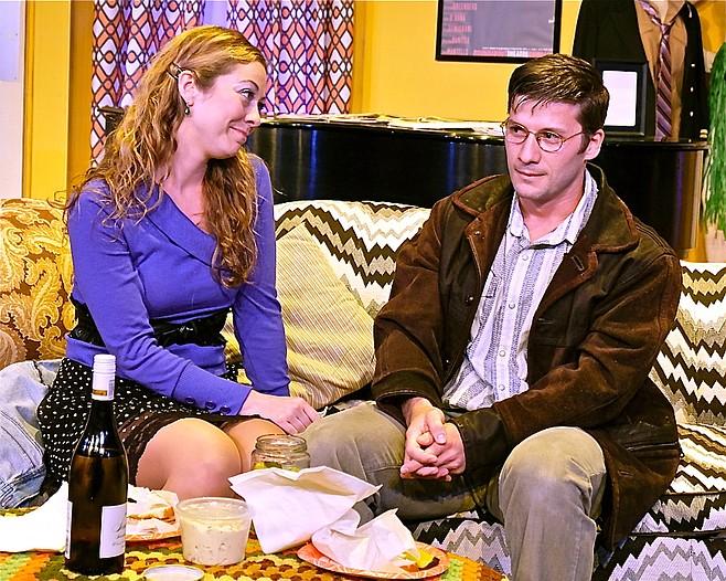Laura Bohlin, Jake Rosko in Tribute at Scripps Ranch Theatre
