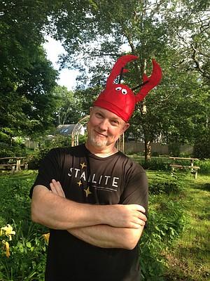 David, my lobster aficionado.