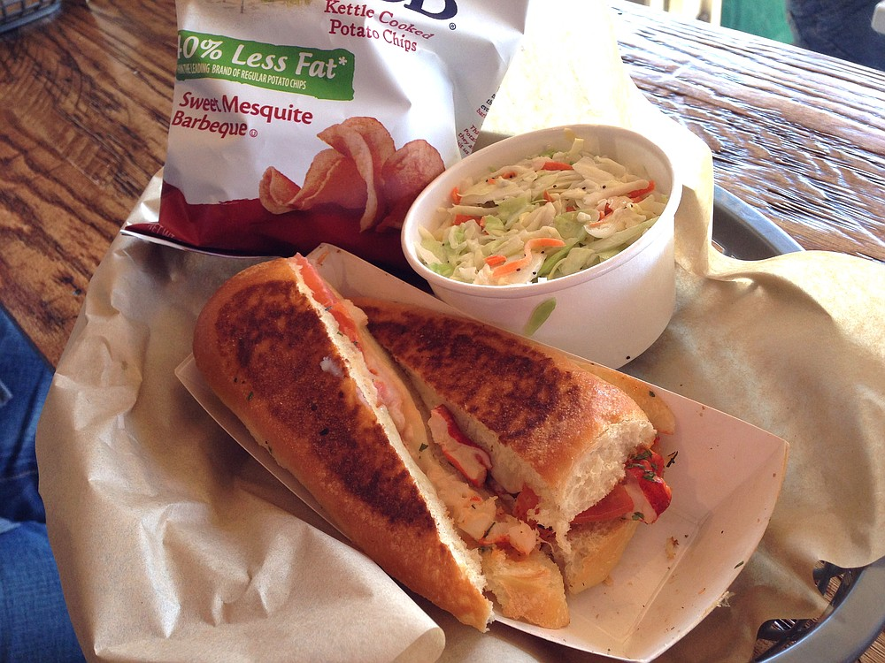 Lobster Grilled Cheese combo