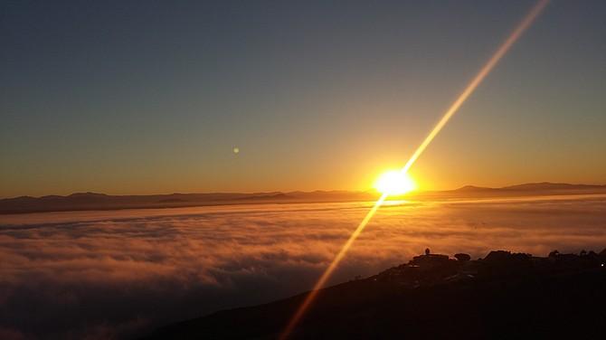 Mt. Soledad sunrise
