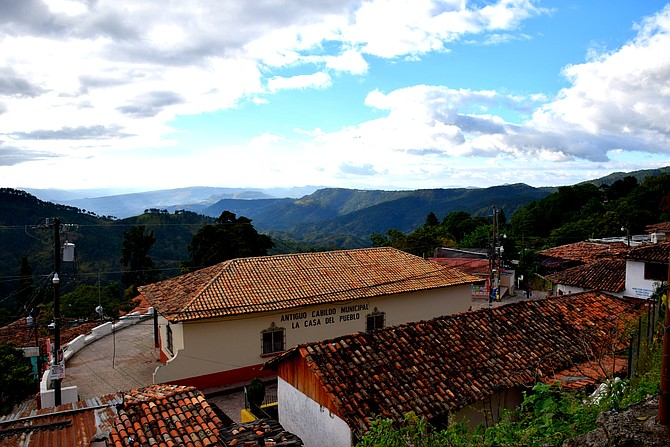 View from Tres Puntos in Santa Lucia, Honduras