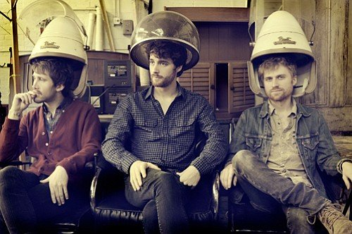 Piano-pounding indie-pop trio Jukebox the Ghost headlines sets at Soda Bar on Monday.