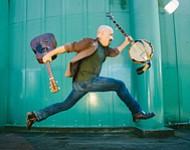 Banjo man Tony Furtado plays the Loft at UCSD on Wednesday.