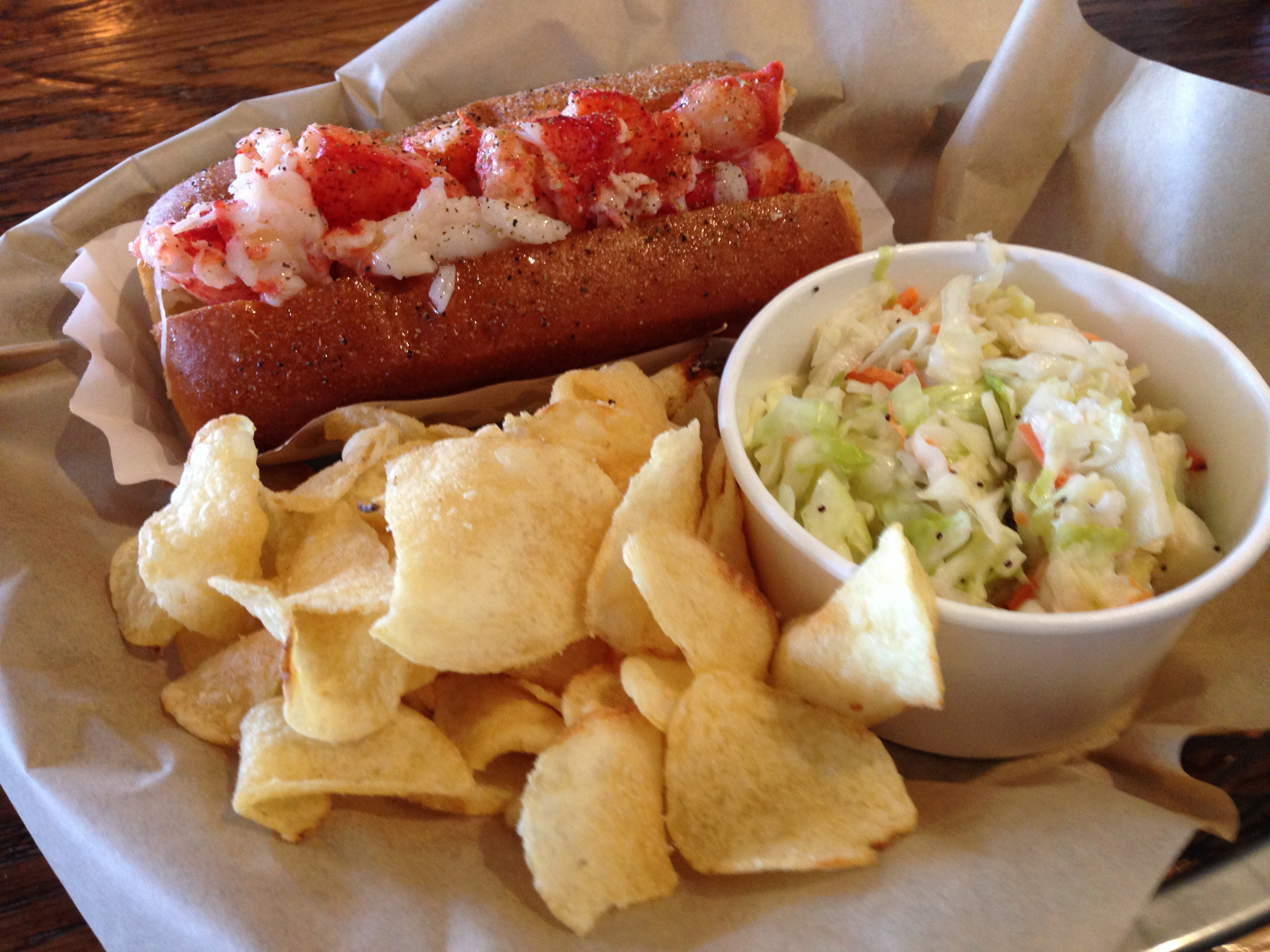 New England lobster rolls on the left coast | San Diego Reader