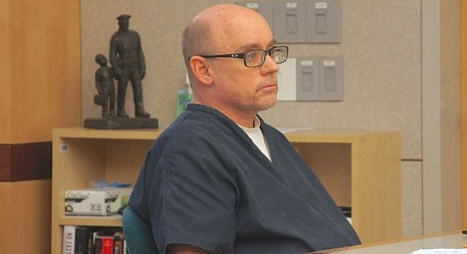 Jeffrey Barton, 57, pleads not guilty to all charges.