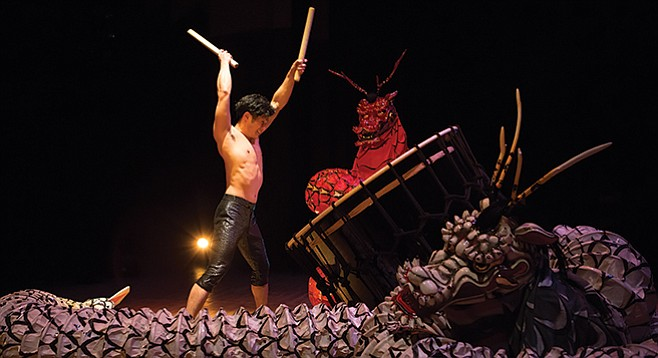 Kodo drummers blend beats and tradition on Friday