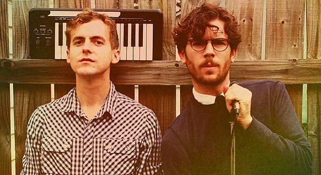 New wave duo Generationals play the Casbah on Friday.