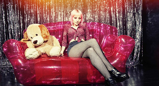 Fringe alt-country artist Jessica Lea Mayfield plays the Soda Bar on Wednesday.