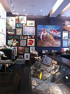 Savannah College of Art and Design's store.