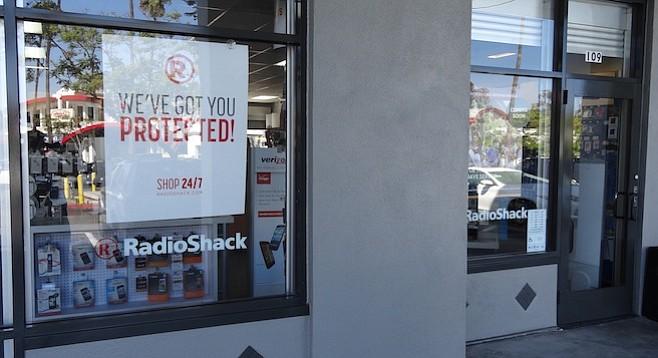 Hillcrest Radio Shack