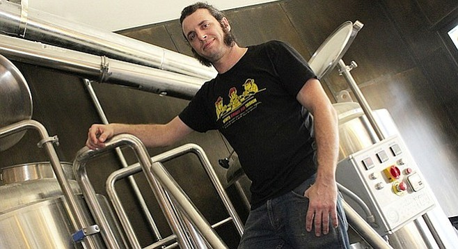 South Park Brewing Co. and Monkey Paw Pub & Brewery head brewer Cosimo Sorrentino