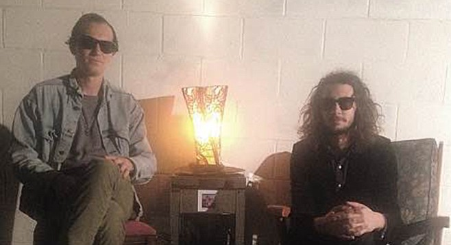 Jordan and Jarrod Heidt plan to rock Vista from the Lavender House.