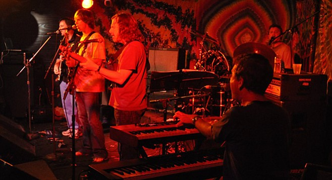 Electric Waste Band celebrates 23-year residency at Winstons on February 23.