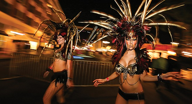 Mardi Gras comes to the Gaslamp on Tuesday, February 17