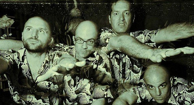 Catch a surf-rock set by Swami John Reis & the Blind Shake at Casbah on Sunday night!