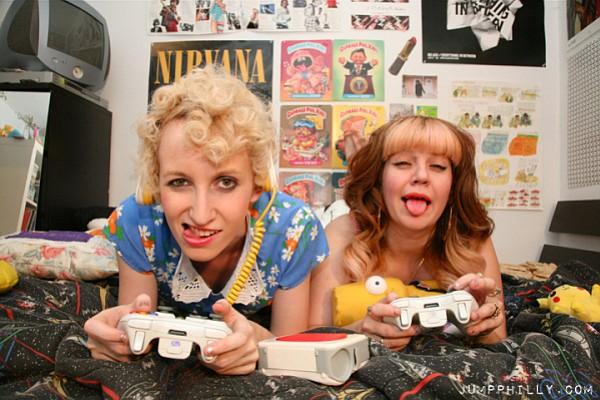Los Angeles-based brat-punk duo Slutever hit the Hideout on Monday.