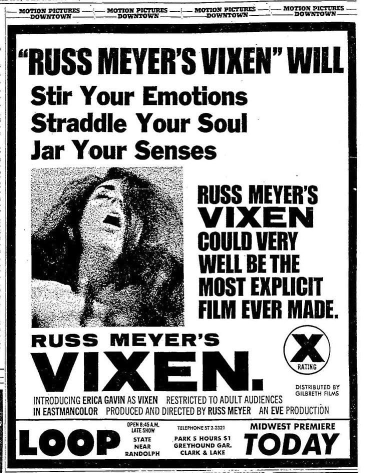 Chicago Tribune, February 21, 1969.