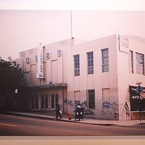 Exterior of the building in 1992