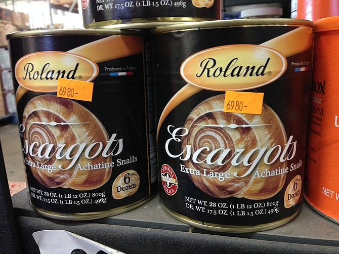 This place is a whole new can of snails.