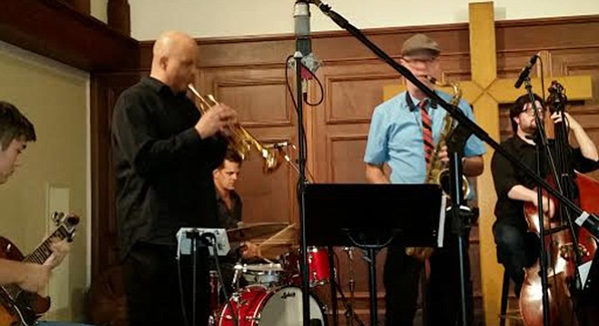 First Presbyterian downtown opens each service with a jazz jam.