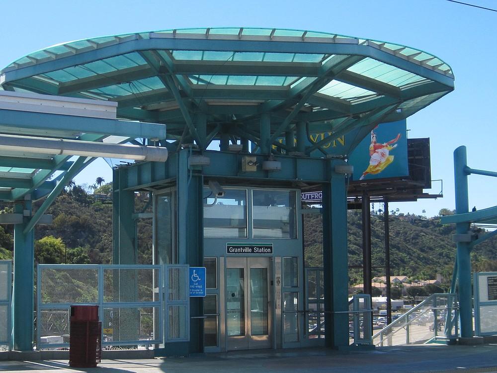 Grantville trolley station