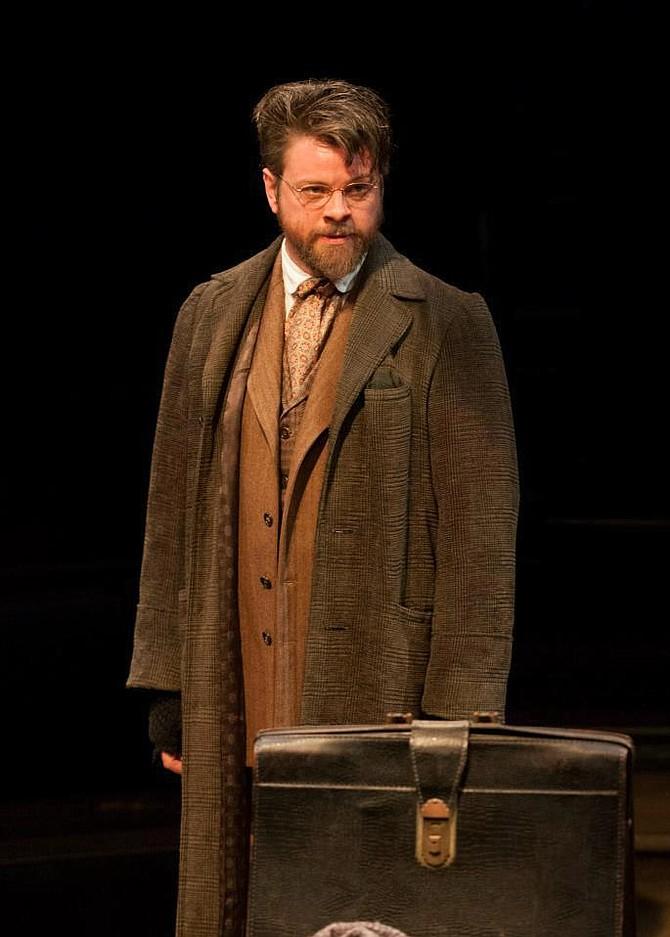 Richard Baird as Krogstad in Dolls House, Old Globe