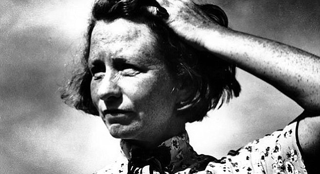 "Edna St. Vincent Millay. ""She made poetry seem so easy that we could all do it. But, of course, we couldn't."""