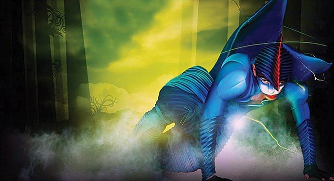 Cirque Du Soleil's Varekai on Wednesday