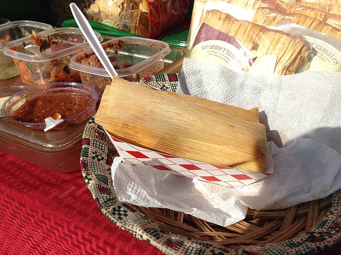 Good things come wrapped in a corn husk. Shredded beef & chipotle tamales. Gourmet Tamales.