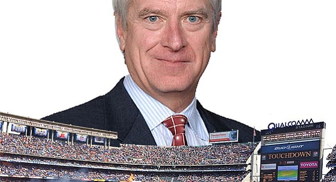 Chargers lawyer Mark Fabiani is looming large over the mayor's stadium task force decisions